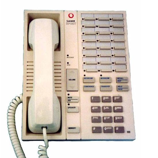 At Amp T Spirit 24 Button Telephone Misty Cream