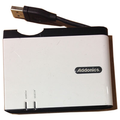 ADDONICS AESDD12U2 11-in-1 Mini Digi Drive II Flash Reader/Write