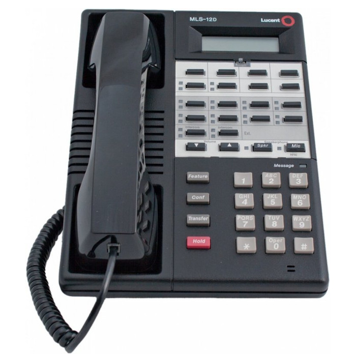 Partner MLS-12D Display Telephone (Black)