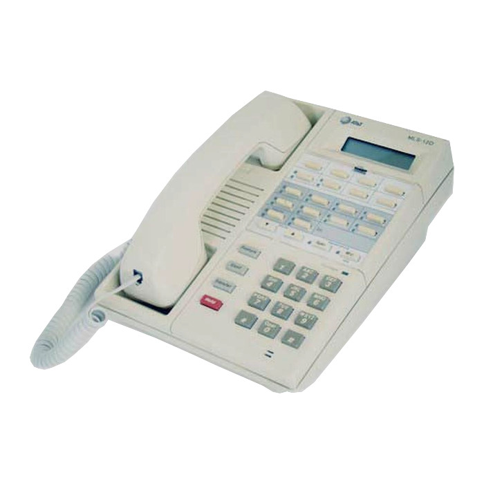 Partner MLS-12D Display Telephone (White)