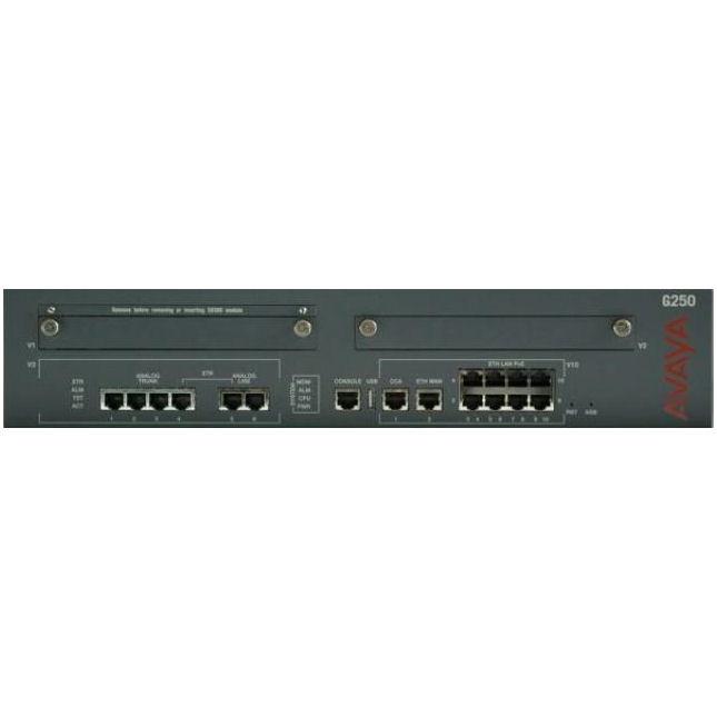 Avaya G250 Dcp I F Media Gateway 700360654 Comtalk Inc