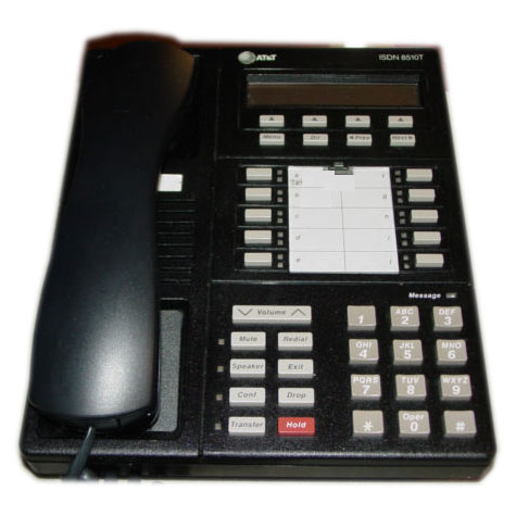 AT&T/Lucent ISDN 8510TND Telephone (Black)