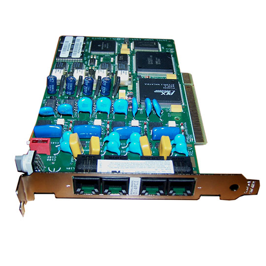 Dialogic D4 PCI Telephony Board