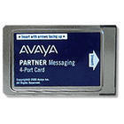 Partner Messaging 4-Port Card