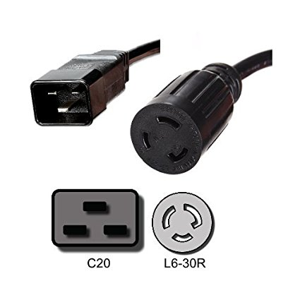 Xtreme P90g Output Cord IEC C20 to L6–30R