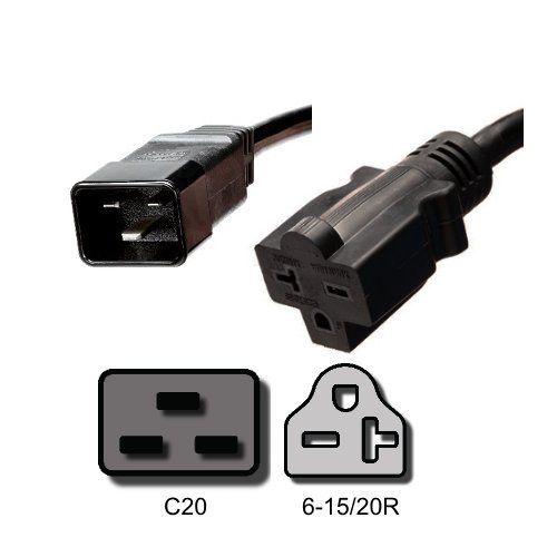 Xtreme Output Cord IEC C20 to6-15-20R